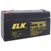 ELK 0613 Sealed Lead Acid Battery, 6 Volts, 1.3 Ah