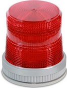 Edwards 105SINHR-N5 Beacon Light, Flashing, 200mA, Red