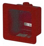 Edwards 2459WPBR Weatherproof Box Red