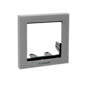 Comelit 3311-1S, Module-Holder Frame Complete With Cornice For 1 Module- Silver Color