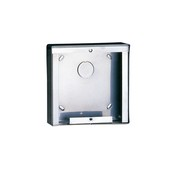 Comelit 3316-1 Stainless Steel Surface Mounting Box for 1 Module