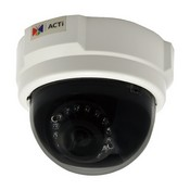 ACTi D55 3 Mp Day/Night IR Indoor Dome Camera with Fixed Lens