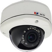 ACTi E81 1MP Outdoor Dome Camera with Day/Night, IR, Basic WDR, Vari-Focal Lens