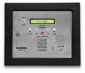 Viking Electronics AES-2000F 75 Name Aprtmnt Entry System W/Display & V