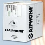 Aiphone 82220210C Wire 1000' 22 AWG 2 Conductor, overall shield PVC 44.65 pf/ft 17.50 ohm for AI-900 Series / AP-M / AT-406 / C-123L/LW / CCS / DA / IE / IE-8 / IM / IP-EWST / LDC / LEM / MP-S / NEM, NDR, NDRM / TC-M / TCS-MH Series