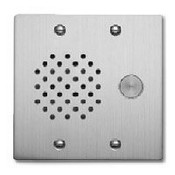 Aiphone IE-SS-A Audio Only Door Station, Stainless Steel, Flush Mount