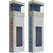 Aiphone Systems ISWBHE Wall With Hood Emergency Lettering