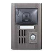 Aiphone JA-DGC Semi-Flush Mount Color Pantilt Door Station, Metal
