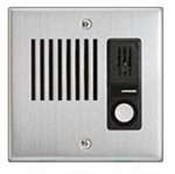 Aiphone LE-DA Flush Mount Door Statiom, Stainless Steel Faceplate