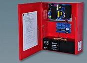 Altronix AL1024ULXPD4CBR 4 PTC Outputs Power Supply/Charger 24VDC @ 8 or 10A Red Encl & Xfmr
