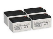 Altronix AL800ULADAJ Batteries (Set of 4)