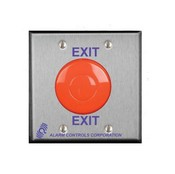 Alarm Controls TS-50 1 N/O And 1 N/C 10A Momentary Switch, Red Mushroom,