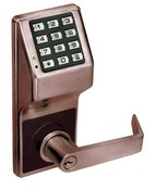 Alarm Lock DL2700-10B Duronodic Trilogy T2 Trilogy T2 100-User Standalone Electronic Digital Keypad Cylindrical Lock Leverset DL2700