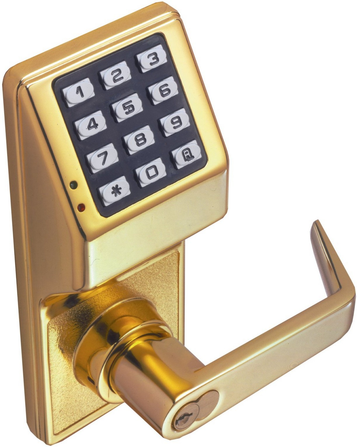 Alarm lock dl2700 3 battery operated trilogy pushbutton for Exterior standalone retail