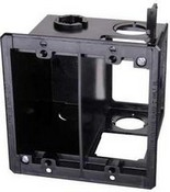Arlington Industries LVDR2 Power & Low Voltage Box for Existing Construction
