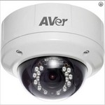 Aver Information FV202800 Robust Indoor Ip Dome Camera, Vandal-Pro