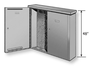 Benner Nawman Bn48489wul Exterior Surface Enclosure Nema