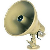 Bogen AH5A Amplified Horn with Volume Control (5W)