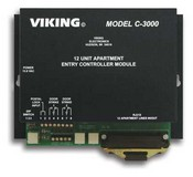 Viking Electronics C-3000 1 TO 96 Unit Aprtment Entry System