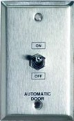 Camden CM-1902 Mini Aluminum Faceplate, On/Off/Hold Open