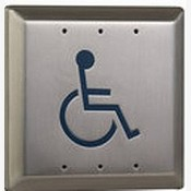 Camden CM-46/2 Wheelchair Symbol - Blue