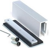 Camden CX-1013 Glass Door Mounting Kit - For 1200 And 1600 Lb Mags Use On 1/2 Or 3/4 Inch Thick Doors