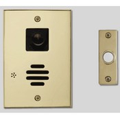 Linear H585B Door Station with Relay, Color Camera, and Lighted Chime Button