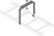 Middle Atlantic CLB-CSB Ladder Center Support Bracket