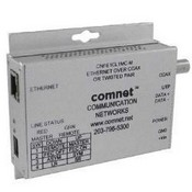 Comnet CNFE1CL1MC-M Media Converter, 1 Channel Ethernet to Copper or COAX, 10/100mbps, Small Size