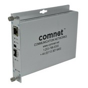 Comnet CNFE2MCPOE 10/100 Mbps Ethernet 2 Port Media Converter; Electrical to SFP Optical with Power Over Ethernet