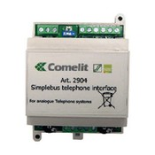 Comelit 2904UL Telephone interface module for SimpleBus2 and SimpleBus color