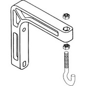 Da-Lite 40932 40932 6 Wall Mount Brackets (Extends 6