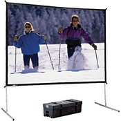 Da-Lite 88640 Fast-Fold Deluxe Projection Screen (9 x 12')