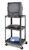 Da-Lite AV2-42J Pixmobile Pre-Assembled, Adjustable Projection Cart