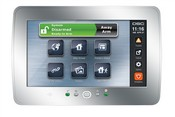 Tyco Safety Products PTK5507S Color Touch Screen Silver Keypad