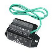Ditek DTK4LVLPSCPRUV 4 Pair - 130v- Terminal Strip - 16-22 Awg - 150ma Self Resettable Fuse Low Voltage Line Protector