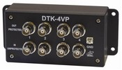 Ditek DTK4VP Four Channel BNC Video Protection, 2.8V Clamp