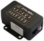 Ditek DTKMRJ11SCPD 1 Pair, 6V, RJ11 In/Out Modular Jack Low Voltage Voice/Data