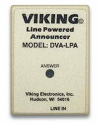 Viking Electronics DVA-LPA Phone Line Powered Announcer 16 Sec