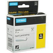 Dymo 1734821 White Rhino Self-Laminating Tape (1.0