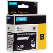 Dymo 1805433 Clear Permanent Poly Labels (1.0