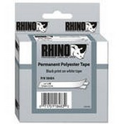 Dymo 18484 White Permanent Poly Labels (¾