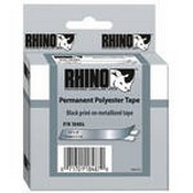 Dymo 18486 Metalized Permanent Poly Labels (1/2