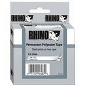 Dymo 18508DMO Clear Permanent Poly Labels (3/8