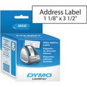 Dymo 30252 LabelWriter Address Labels (1 1/8 x 3 1/2