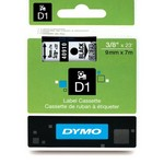 Dymo - 40910 Tape Black On Clear