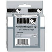 Dymo 622290 Clear Permanent Poly Labels (3/4