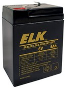 ELK ELK-065-0 Battery, Lead Acid 6V-5.0Ah