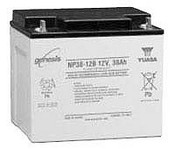 Enersys NP38-12 Battery, Lead-Acid, 38, 12 V, 197 mm L x 165 mm W x 170 mm H, 14.2