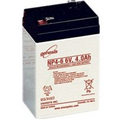 Enersys NP4-6 6V 4Ah Sealed Lead Acid Battery